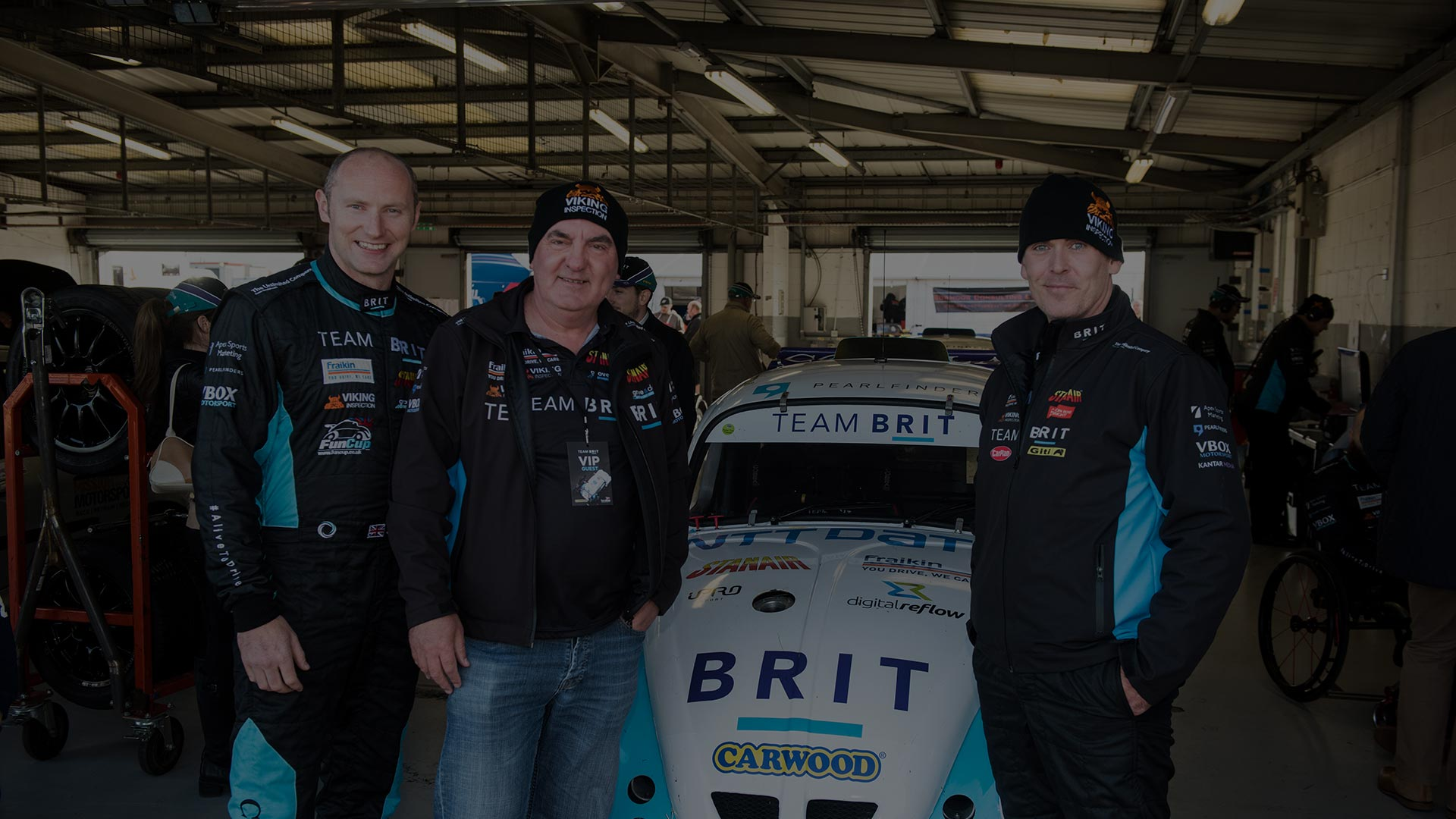 Birkett Relay Silverstone with Top Gear